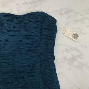 nwt strapless dress